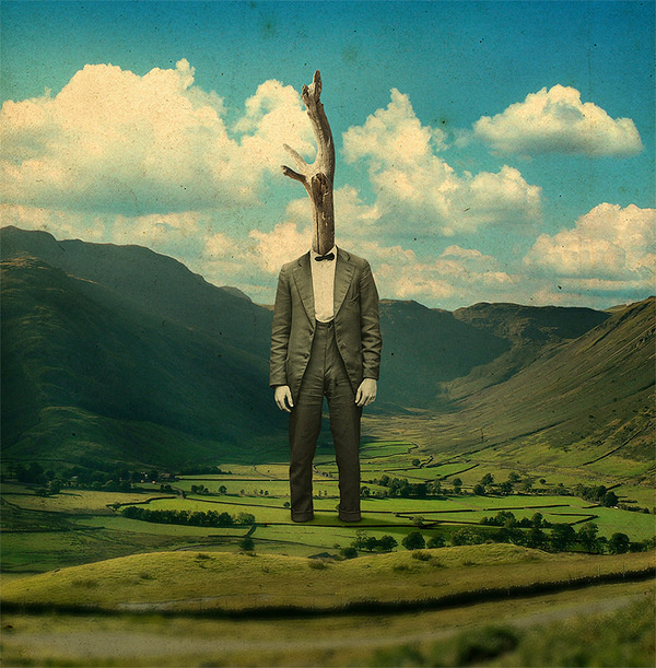 The Surreal Collages of Joseba ElorzaNovember 14 #surrealism #collage