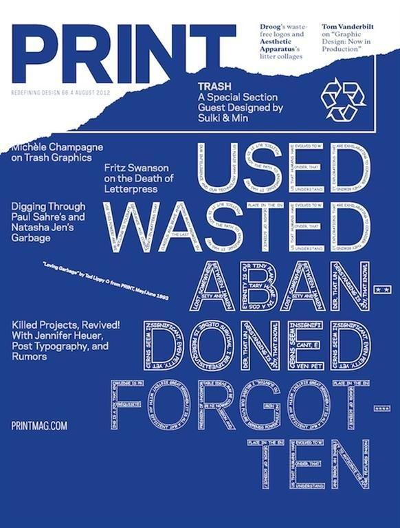 Print Magazine August 2012 #mag #print #editorial