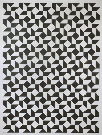 0128 50:50 X-Tauba-Auerbach-large.jpg (1000×1317) #pattern #geometric #art