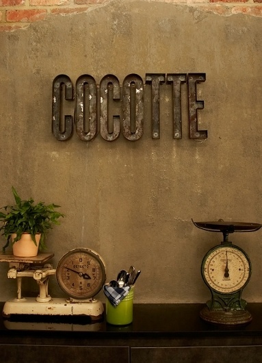 Foreign Policy Design Group » Cocotte #signage #logo