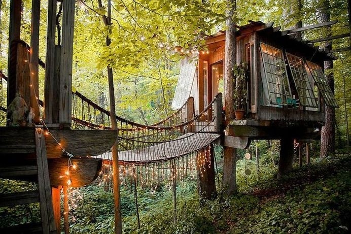 A Treehouse For The Mind, Body, And Spirit In Atlanta, USA #treehouse
