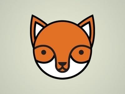 Dribbble - Round Fox by Tim Krause #fox #tim #geometric #illustration #krause #circle