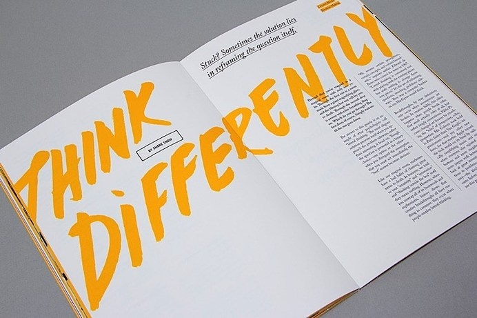 Creative Magazine Editorial Design Inspiration And 99u Image