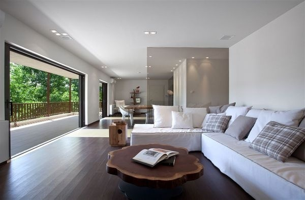Apartment in Kifissia by Stirixis Exclusive #modern #design #minimalism #minimal #leibal #minimalist