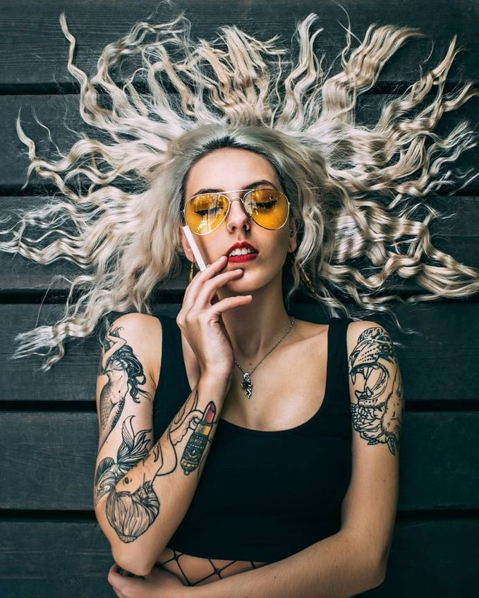 Vibrant, Moody And Dreamlike Portrait Photography by Sergio Espinoza