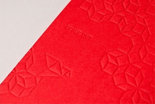 2010 Holiday Promo on the Behance Network #yiu #packaging #letterpress #christmas #studio #promo