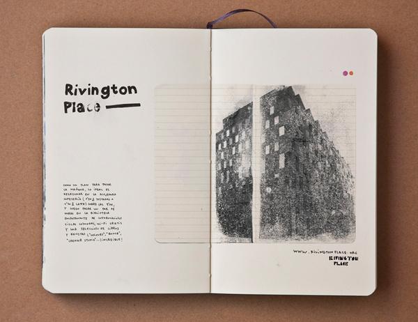 pazmartinezcapuz.com london guide #guide #handwriting #london #design #graphic #spread #moleskine #collage #editorial