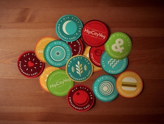 Colored Stickers by Michael Smith #colors #color #stickers