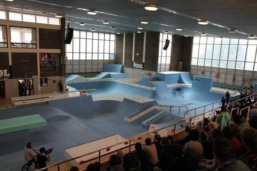 Nike 6.0 The Pool Gallery | Rampworx Skatepark #pool #nike #london #dagenham