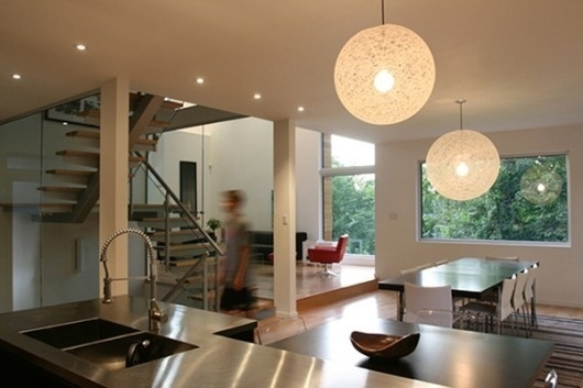 WANKEN - The Blog of Shelby White » Canadian Glass House #interior #house #design #glass #wood #architecture #canadian