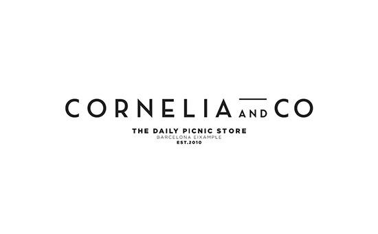 Cornelia and Co Logo Design #logo #brand #design #identity