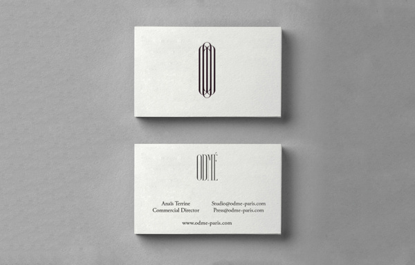 Odmé on Behance #stationery