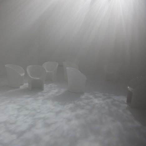 Twilight by Tokujin Yoshioka for Moroso #yoshioka #installation #furniture #tokujin #art #lighting