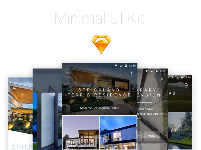 Minimal UI Kit for Sketch. Download from here: https://www.thehotskills.com/sketch-app-ui-kits-free