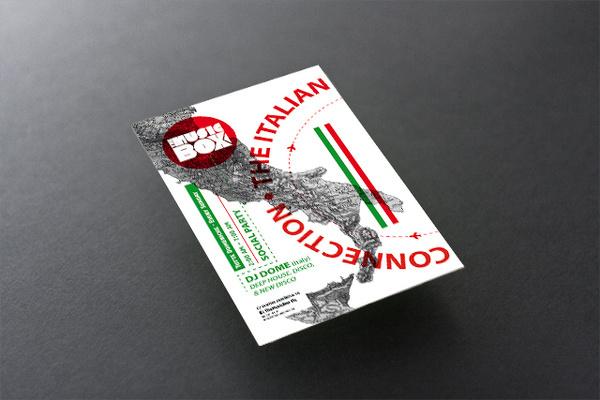 flyer-Italian Connection #voltio #flyer