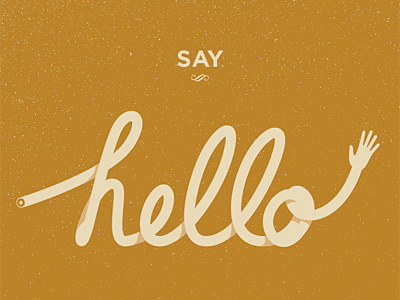 Say Hello #knapp #andrew