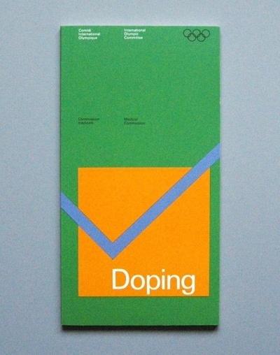 Otl Aicher 1972 Munich Olympics - Brochures #olympics #otl aicher #grid