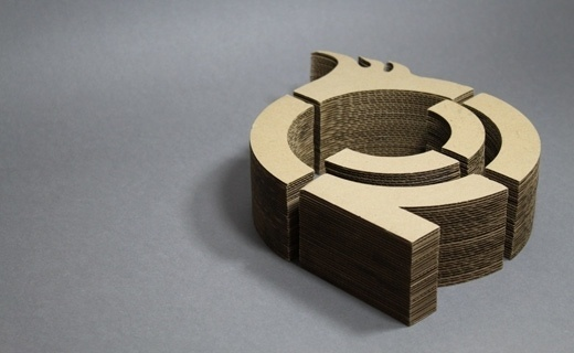 Recyclable Logo Design, Laser Cut | Definitive Studio® | Graphic Design & Communication - Scottish Borders #logo #cut #laser #branding