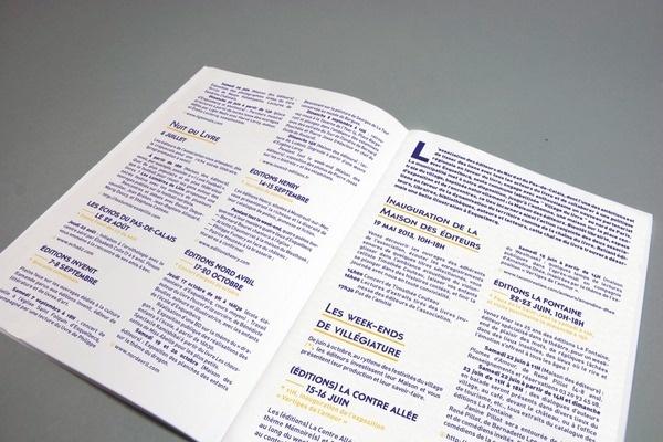 LES ÉDITEURS DU NORD #layout #editorial