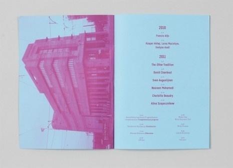 Wiels – Annual Report   Alexander Lis #print #design