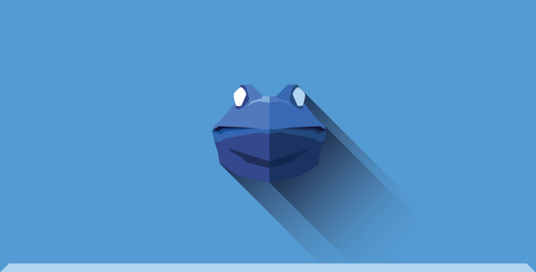 Flat animals | Part one on Behance #frog