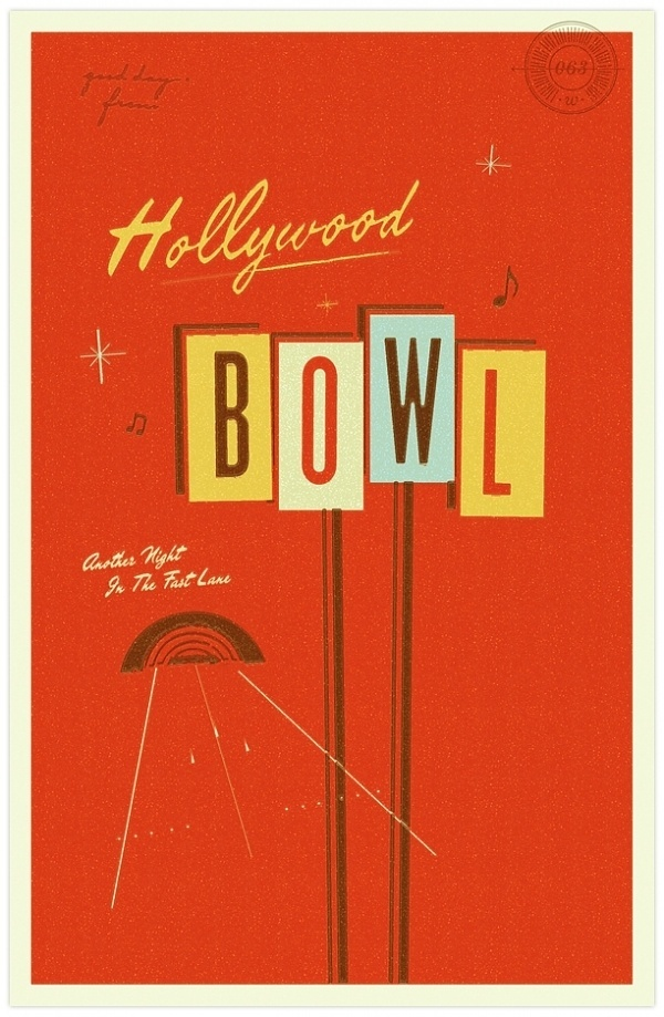 goodday no. 26-68 « good day ca #illustration #hollywood #vintage #postcard