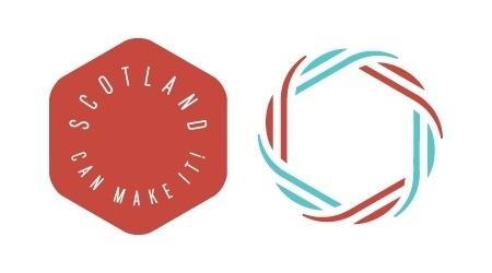 FormFiftyFive – Design inspiration from around the world » Blog Archive » Scotland Can Make It (SCMI) #scotland #logo #ribbon