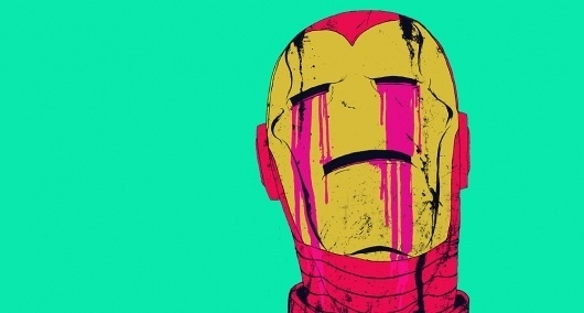 2011 : boneface #illustration #ironman #superhero