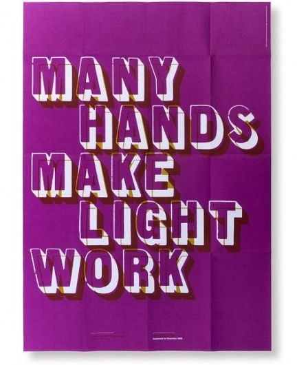 grain edit · Brighten The Corners #print #purple #typography