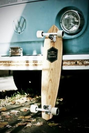 Naked Longboard - The Black Workshop #longboard #car