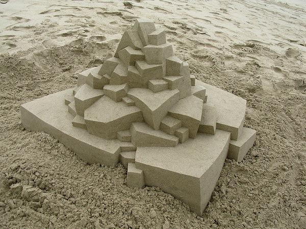 Geometric Sandcastles4 #sandcastle