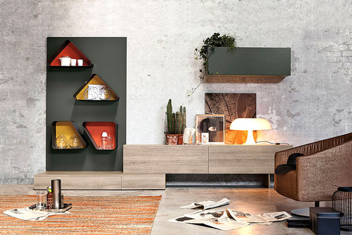 Wall Panel System Magnetika by Ronda Design - #design, #furniture, #modernfurniture, design, furniture