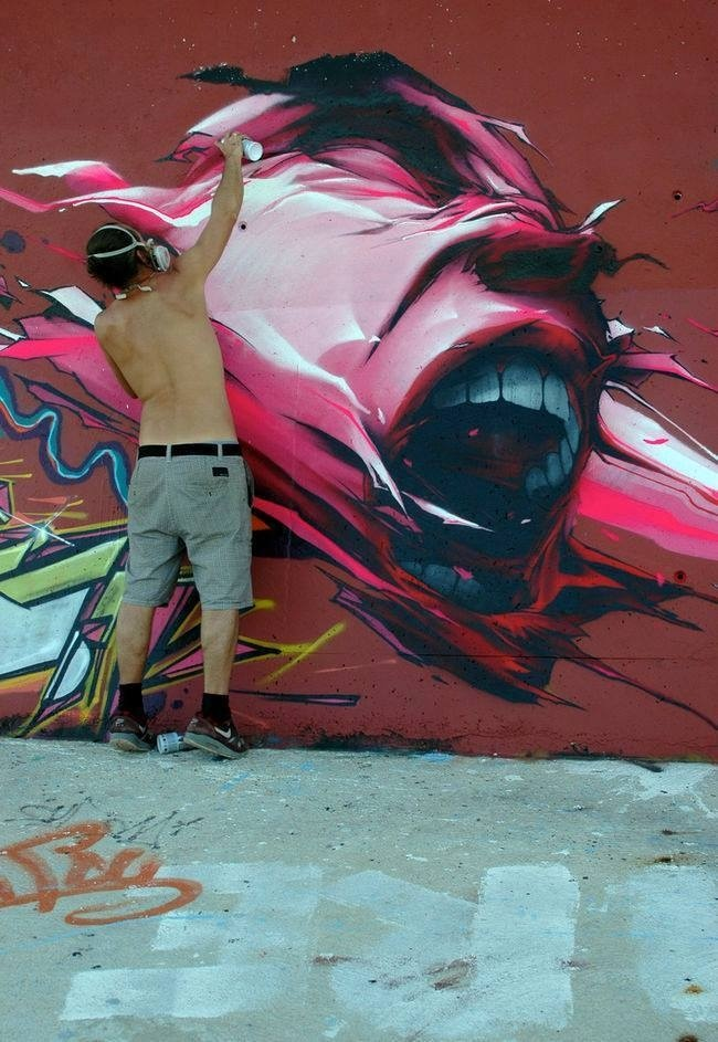 Brusk in progress #inspiration #art #street