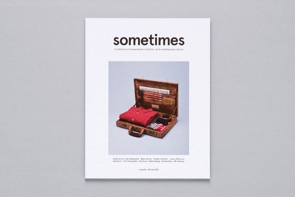 Sometimes Magazine / James Kape #print