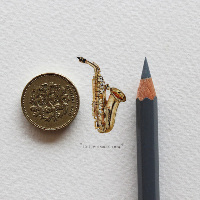 postcardsforants-5 #miniature #painting