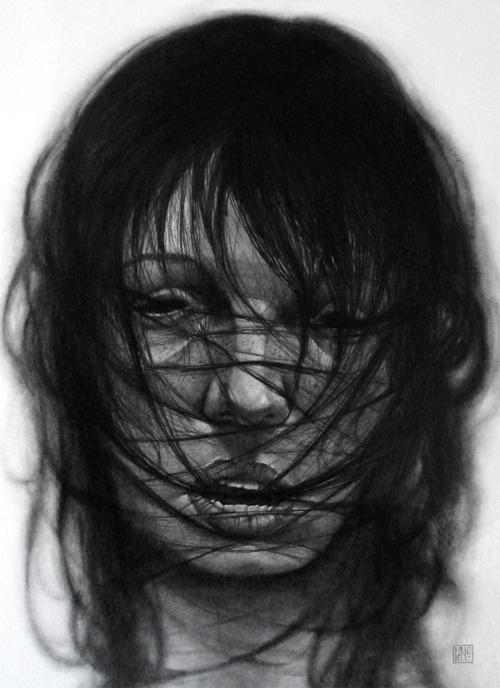 supersonic electronic / art - Bayo. #dark #portrait #gothic #girl