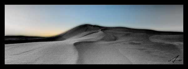 Sand Dunes #design #dunes #illustration #anggraphics #panoramic