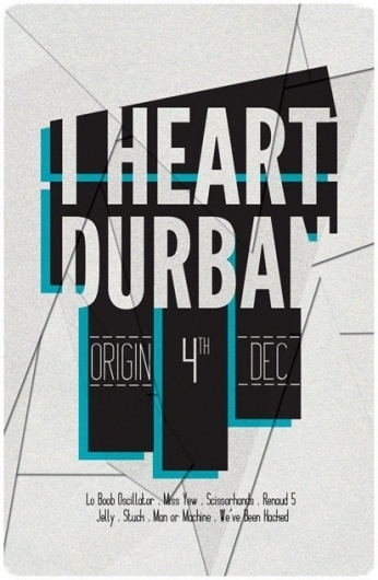 Flyer Designs // 2010 on the Behance Network #durban