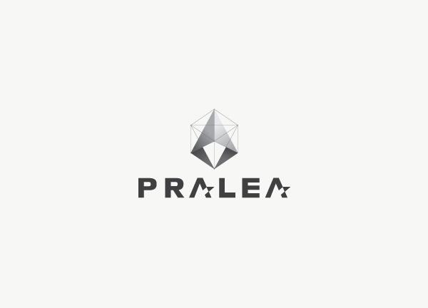 Pralea #sharp #shape #architecture #logo #cube