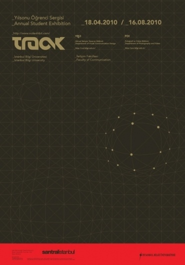 Track 09 Exhibit Posters on the Behance Network #design #graphic #grid #track #poster