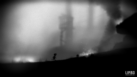Limbo [Games] - Solitary journey of a boy, uncertain of his sister's faith, enters limbo.. | CreativeApplications.Net #limbo #white #black #and #game