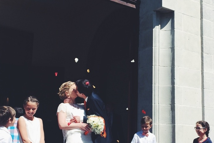 #france #summer #wedding #love #celebration #unique #church #lifestyle #friends #countryside