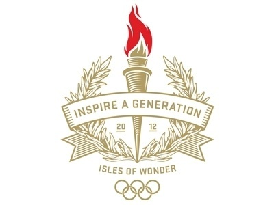 Dribbble - Inspire A Generation by Jason Williams #flame #olympics #illustration