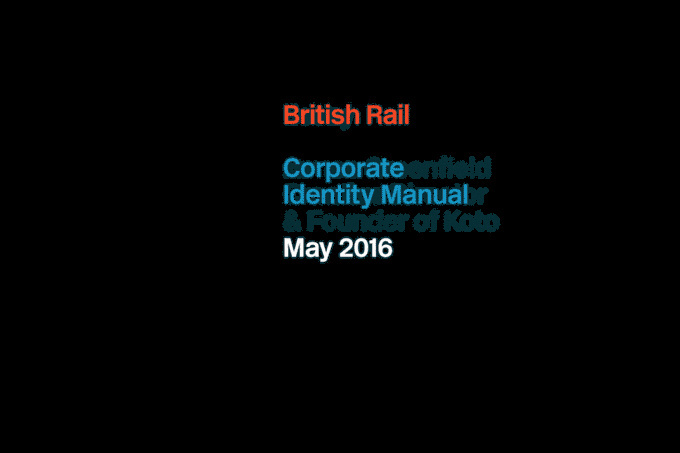 British Rail Corporate Identity Manual http://kck.st/1XjHYUk A high spec reproduction of the iconic British Rail Corporate Identity Manual #british #branding #print #design #graphic #book #travel #guidelines #transport #identity #rail #britishrail
