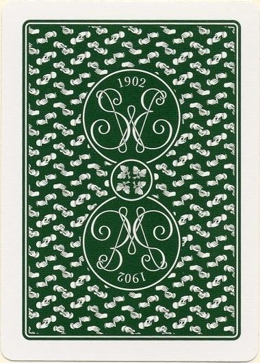 Erdnase-Acorn-Green-Back.jpg 753×1050 pixels #card #illustration #pattern #playing