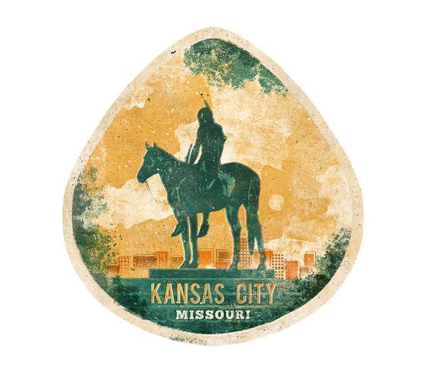 Graphic ExchanGE a selection of graphic projects #kansas #badge #city #neat #cool