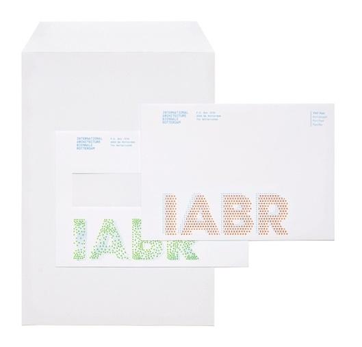 Stout/Kramer #envelopes #design #simple #corporate #identity #blue #typography