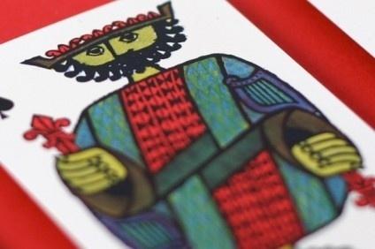 Javier Garcia » Stig Lindberg Playing Cards #stig #playing #illustration #mid #century #modernism #cards #lindberg