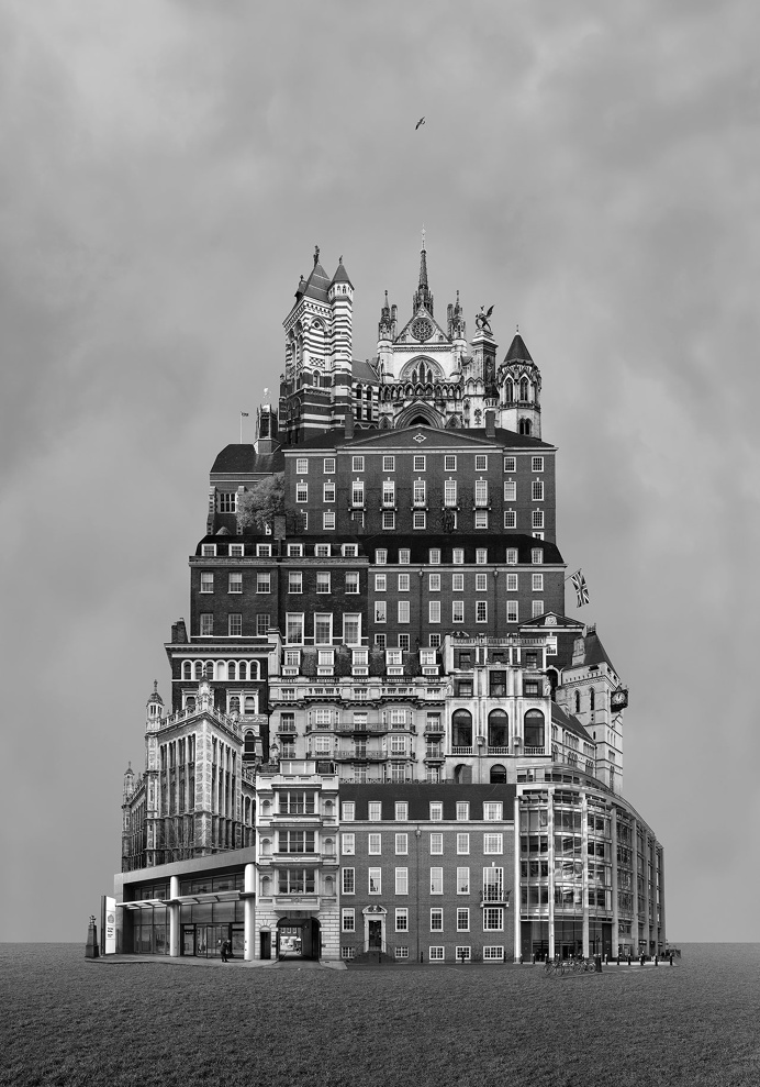 Beomsik Won,Archisculpture 016, 2013. Archival pigment print, 100x70 or 171x120cm.