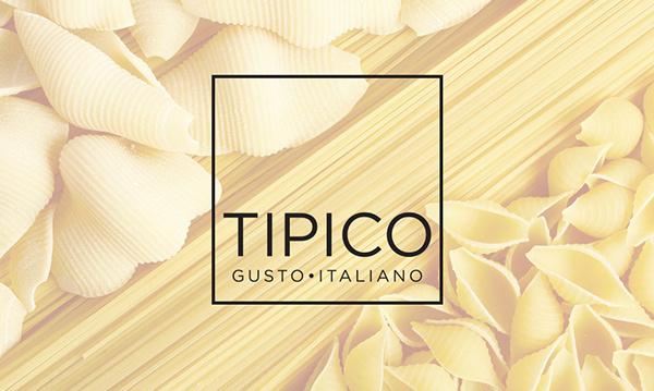 Tipico. Italian Food on Behance #branding #pasta #design #graphic #food #restaurant #olive #tomato #corporate #logo #taste #italy #oil